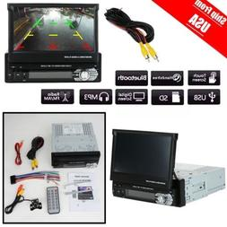 1 DIN 7'' HD Car Stereo Radio MP5 MP3 FM Player In-Dash Head