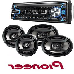 Power Acoustik 1-DIN with 32GB USB/SD/AUX/Bluetooth + Pionee