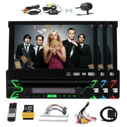 1 Din DVD Player and Backup Camera Car stereo Capacitive Tou