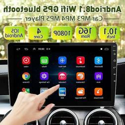 10.1'' 2DIN   Car Stereo Radio Android 8.1 GPS Navi WIFI Blu
