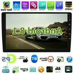 "10.1"" Car Radio Stereo Android8.1 GPS Navi MP5 Player WiFi Q"