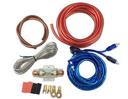 Muzata 10 Gauge Amplifier Installation Kit with RCA Intercon