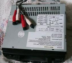 Optimus 12-2115 AM FM Stereo Cassette w/ Auto-Reverse Car St