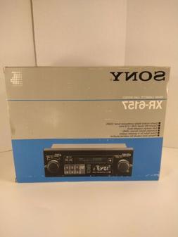 1992 Sony AM/FM Radio Cassette Digital XR-6157 Car Audio Ste