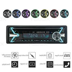 1DIN Car Stereo Audio Radio MP3 Player Bluetooth TF/USB/AUX