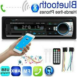 1DIN Car Stereo Radio Bluetooth MP3 player FM Handsfree SD/U
