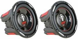 "2 Boss Audio P106DVC PHANTOM 10"" 4200w Dual 4-Ohm Subwoofers"
