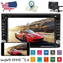 """6.2"""" Car Stereo CD DVD Player SAT GPS Navigation Radio Touch"""