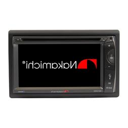 "NAKAMICHI 2 Din 6.2"" HD Screen Car DVD Bluetooth Player Ster"