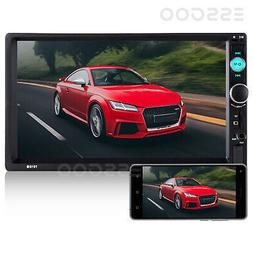 """2 Din 7"""" Car Stereo BT MP5 Audio Video Player Touch Screen F"""