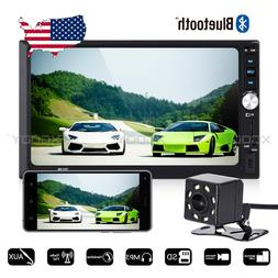 """2 DIN 7"""" Car Stereo Radio MP5 Player BT Touch Screen 4x60W M"""