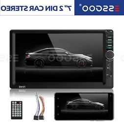 "2DIN 7"" Car Stereo Radio MP5 Player BT Mirror Link Audio In-"