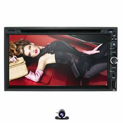 2 Din Universal Car GPS DVD Player Toyota Camry Corolla RAV4