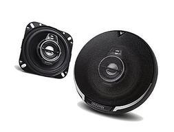 "Kenwood 2 New KFC-1095PS 4"" 220 Watt 3-Way Car Audio Coaxial"
