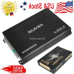 2000 Watt 4 Channel Class AB Mono Stereo Car Audio Amplifier