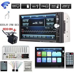 2DIN 7023B 7Inch LCD FM Radio Bluetooth Car Stereo MP5 Playe