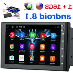 2Din 7in Android8.1 GPS Navigation WiFi Quad Core Car Stereo
