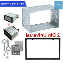 2Din Car Stereo Panel Unit Radio DVD Player Mounting Frames