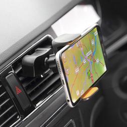 2in1 CD Slot Car Stereo Smart Phone Holder Mount for Apple i