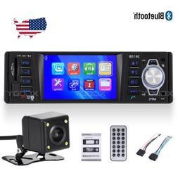 "3.9"" Bluetooth Car Stereo Radio MP5 Player 1Din USB AUX FM H"