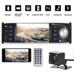 "3.9"" Car Stereo Radio MP5 Player Bluetooth 1 Din USB AUX FM"