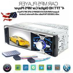 "4.0"" HD Car Stereo Video Radio MP5 Player USB FM Radio 1DIN"