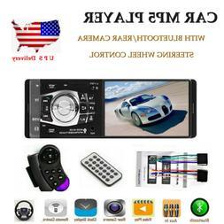 4.1'' 1DIN Car Stereo Radio Bluetooth FM USB AUX MP4 MP5 Pla