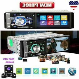 "4.1"" Car Stereo Radio MP5 Player 1 Din Bluetooth Auto USB AU"