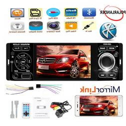 """4"""" 1 Din Car Stereo Radio Bluetooth Touch Screen MP5 Player"""