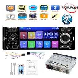 "4"" 1 Din Car Stereo Radio USB AUX Touch Screen Bluetooth  Mi"