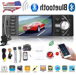 4.1'' HD 1Din MP5 Player Car Stereo Radio Bluetooth FM AUX U