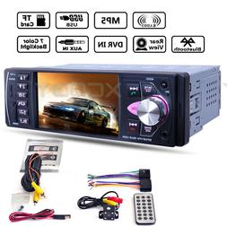"4.1"" HD Car Stereo Radio MP5 Player Unit Bluetooth DVR input"