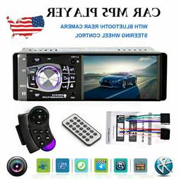 "4.1"" HD Single 1DIN Car Stereo Video MP5 Player Bluetooth FM"
