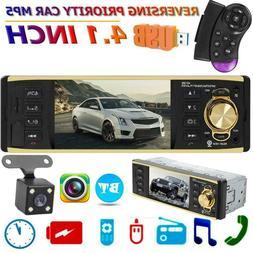 "4.1"" In-dash Audio Car HD Radio Stereo Bluetooth MP5 Player"
