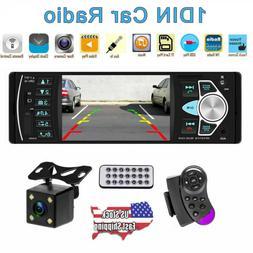 4.1'' Single 1DIN Car Stereo MP5 MP3 Player Bluetooth FM Rad