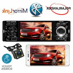 """4"""" Car Stereo Radio 1 Din Touch Screen MP5 Player Mirroring"""