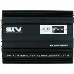 4 Channel Car Amplifier CAE Audio Power Stereo Amplifier Amp