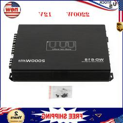 4-Channel Car Audio Stereo Subwoofer Amplifier Class Amp Bri