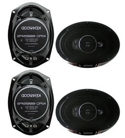 """4) New Kenwood KFC-6995PS 6x9"""" 1300 Watt 5-Way Car Audio Coa"""