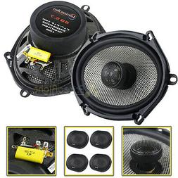"""4 Pack American Bass 6x8"""" 2 Way Coaxial Car Stereo Speakers"""