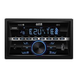 BOSS Audio 470BRGB Multimedia Car Stereo – Double Din, Blu