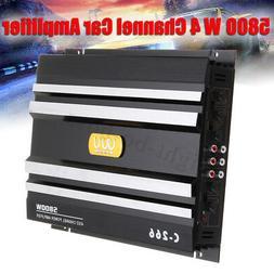 5800Watt Car 4 Channel Power Amplifier Stereo Audio Super Ba