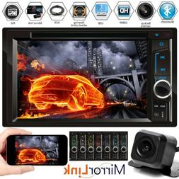 """6.2"""" 2DIN Car Player Bluetooth MP3/Audio/Video/USB Rearview+"""