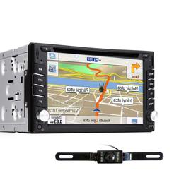 "6.2"" 2Din HD Car Stereo GPS Car DVD Player Auto Radio With B"