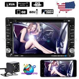 "6.2"" Car Stereo Radio DVD Player GPS Navigation Mirror Link"