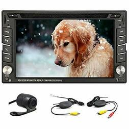 6.2-inch Double DIN GPS Navigation For Universal Car Free Wi