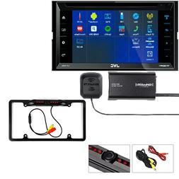 "JVC 6.8"" 2-Din Car DVD Stereo w/Bluetooth/Siri Eyes SXV300V1"