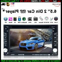 "6.8"" 2 DIN Remote Control Touch Screen AM/FM Car Radio DVD M"