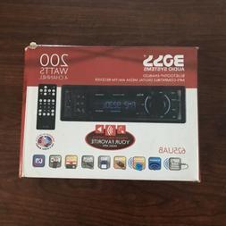 Boss 625UAB Car In Dash USB/SD AUX Radio Digital Receiver Au