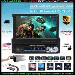 7'' 1DIN Car Radio Stereo BT USB/SD/AUX/EQ/FM/ Touch HD Scre